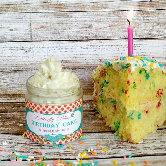 Whipped Body Butter Birthday Cake