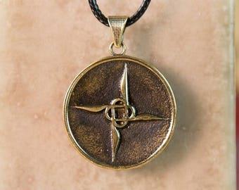 Bronze Ornate Pendant