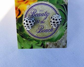 Hawaiian Drupe stud earrings, hawaiian seashell jewelry, beach wedding, hawaii shells, gifts for her, earrings