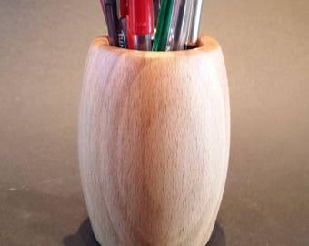 Pen/Pencil Holder  (Beech)