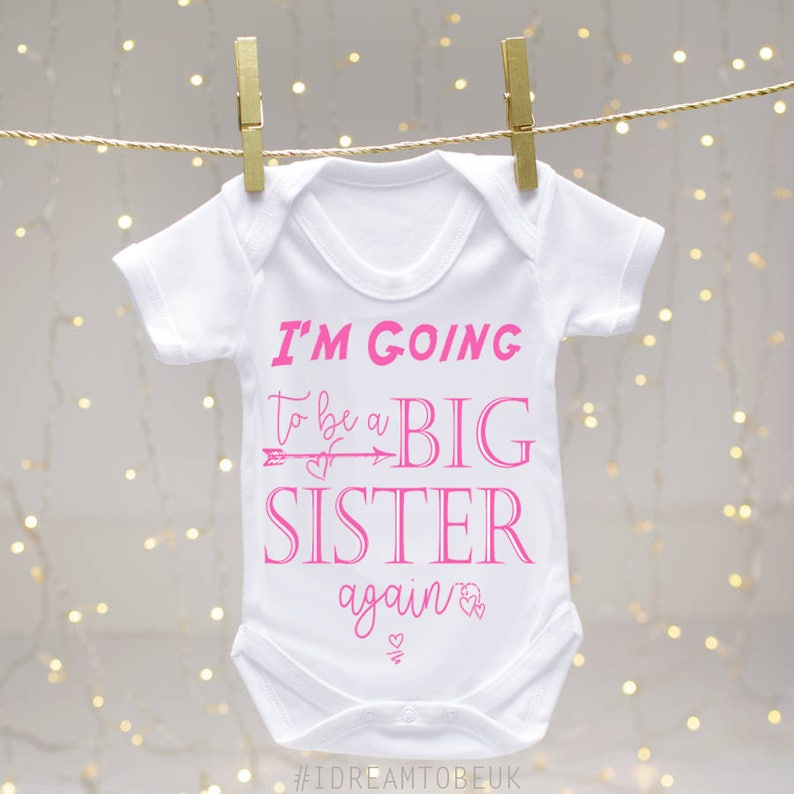Lovely My Big Brother Has Paws Light Pink Baby Grow Bodysuit Rompersuit Sleepsuit Boys' Clothing (newborn-5t) Clothing, Shoes & Accessories