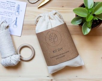 DIY Plant Macramé Suspension Kit - Macramé Tutorial - Creative Gift