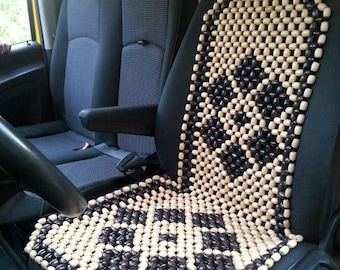 Paar Sitzbezuge Perlen Auto Mit Kopfstutze Paar Auto Sitzbezug Etsy