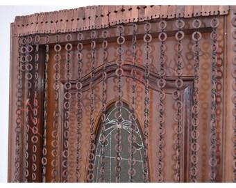 Gordijn Voor Deur : Kralen met deur voor deur gordijn deur kraal gordijn decor etsy