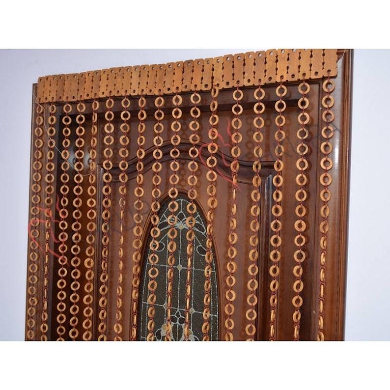Door Bead Curtain Decor For Living Room Wood Blinds Door Beads Curtains  Beaded Door Curtain Wood Bead Door Curtain Handmade Door Curtain