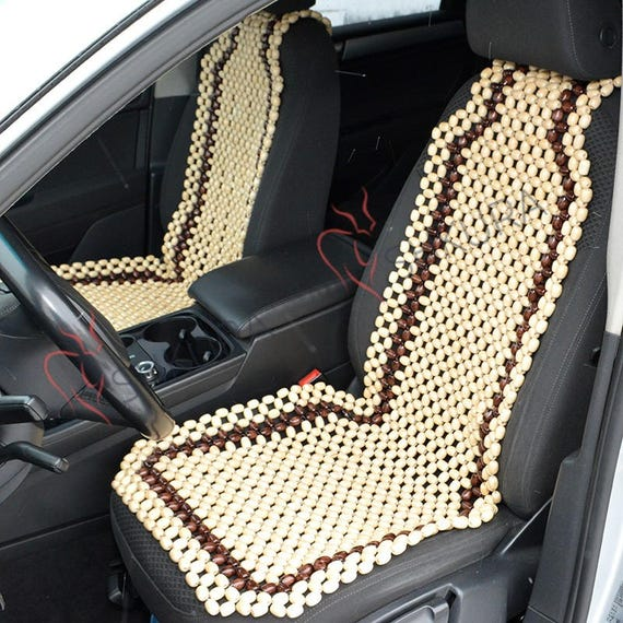 Car Seat Cover Massager Wood Cape