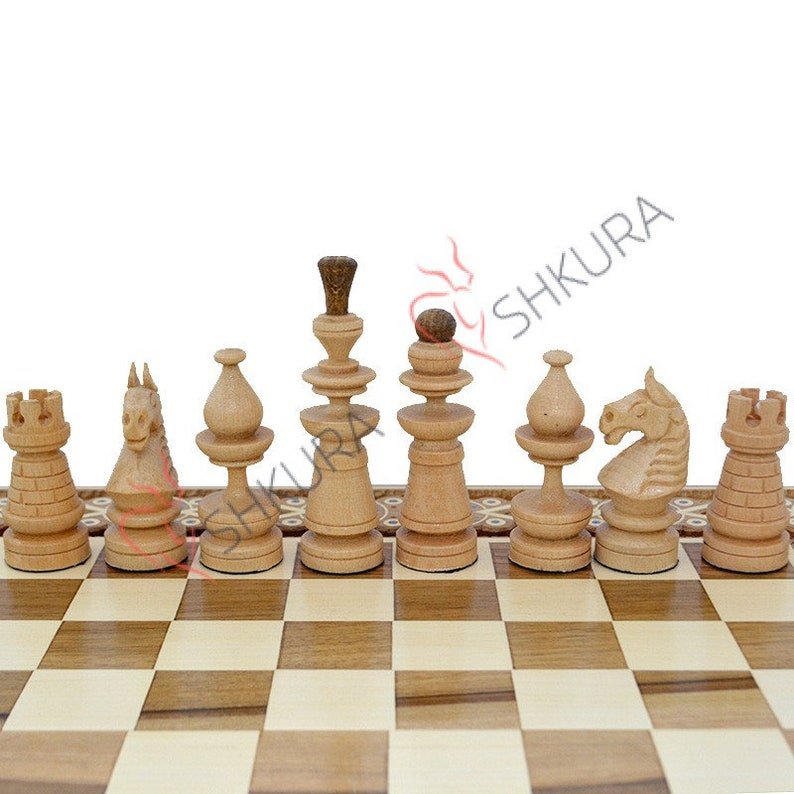 Set Tall Chess Pieces King 4 9 12 5cm Carved Wood Chess Pieces Wooden Chess Figures Handmade Chess Pieces Chess Set Chess Board Chess Game