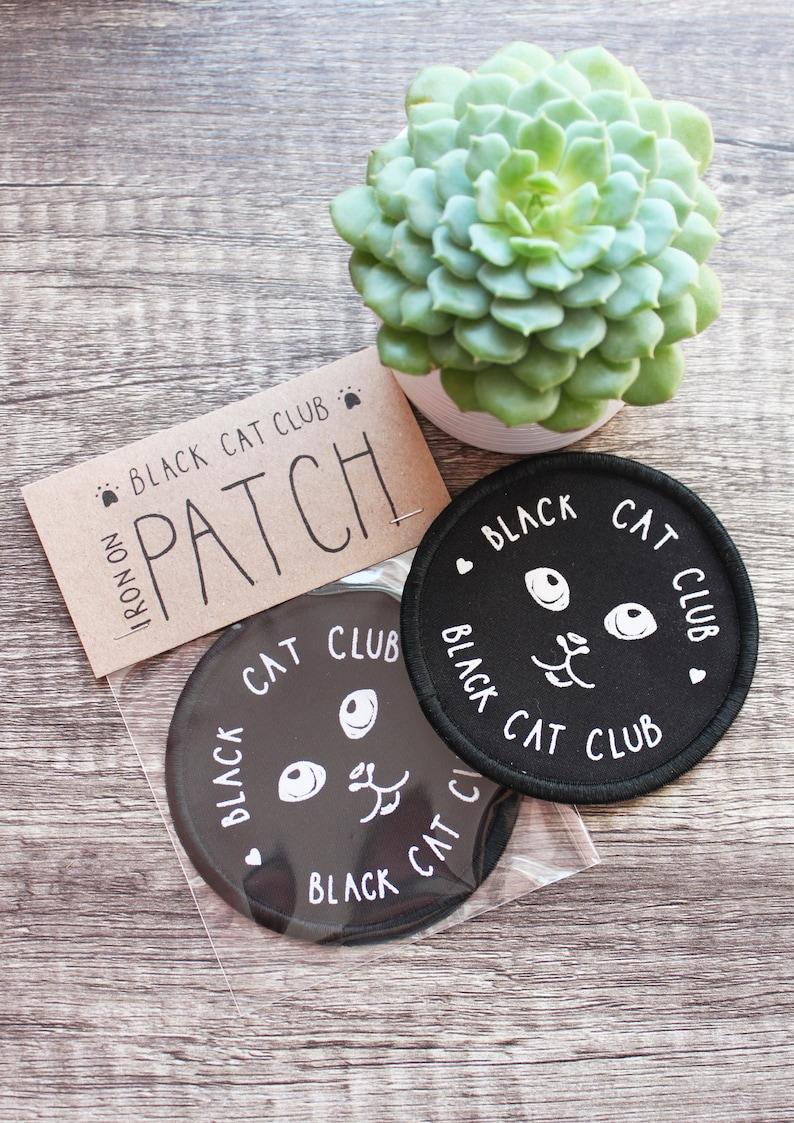 Patch Cat Club Black