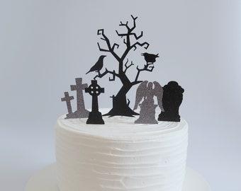 Gothic Cake Topper Etsy
