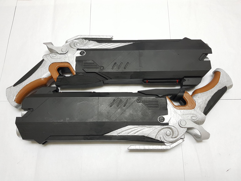 3d Printed overwatch reaper gun | Etsy