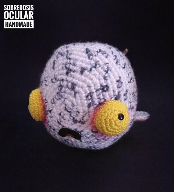 Zombie Whale Mobbydead Amigurumi Ballena Whale Crochet Etsy