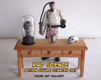 Mad Science Action Figure Starter Set for 3.75 inch Figures