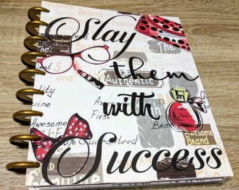 Custom Planner Cover, Happy Planner Cover, Fashion Planner, MAMBI Planner Cover, 2017 Planner Insert, Planner Accessories, Planner Dashboard