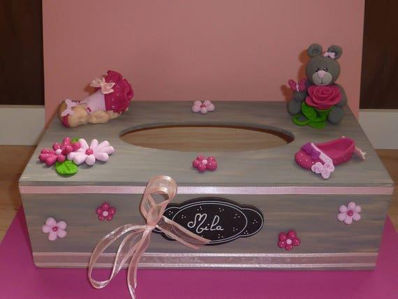 SUR COMMANDE Magnifique urne  boîte à mouchoirs. Idéal   Etsy c75c60d8fd4