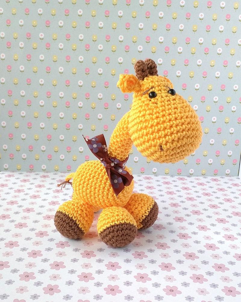 Amigurumi Funny Giraffe pattern. Crochet pattern. Amigurumi safari ... | 1004x800