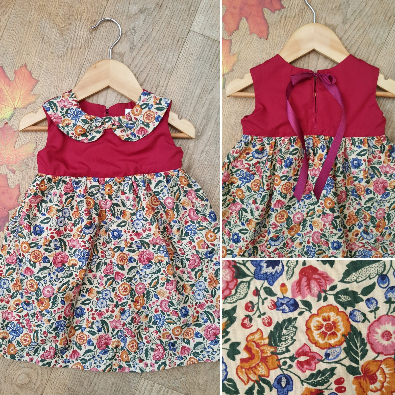 Fall One Peice For Girls 12 Month