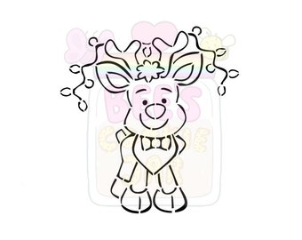 Cute Reindeer PYO