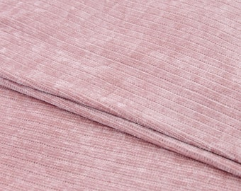 Chenille Fabric - Sweater Fabric - Sweater Knit Fabric - Knit Fabric by the 1/2 Yard - Fabric for Girls - Pink Chenille Fabric - Sewing