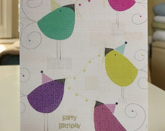 "5x7 greeting card with envelope ""birthday celebration"""