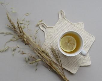 Set of 2 Potholders | Handmade Hotpads | Kitchen Goods | Kitchen Accessories | Crochet Potholder | FREE Shipping Worldwide