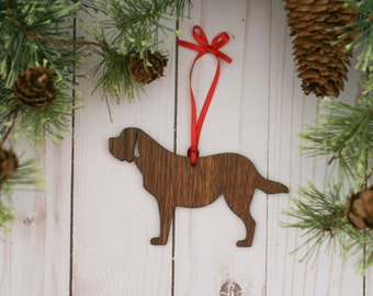 Saint Bernard Dog Ornament