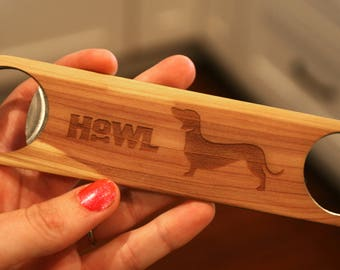 Customizable Dog Lover Bottle Opener