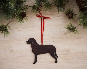 Swiss Mountain Dog Ornament
