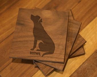 Labrador Retriever Coaster Set