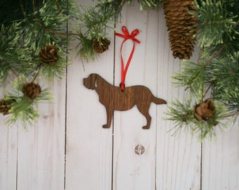Saint Bernard Dog Ornament