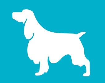 Customizable Springer Spaniel Dog Christmas Tree Ornament   Personalized Dog Ornament