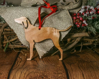 Anglo French Hound Ornament