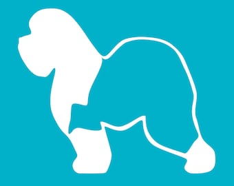 English Sheepdog Decal