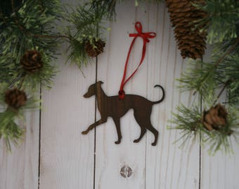 Italian Greyhound Ornament