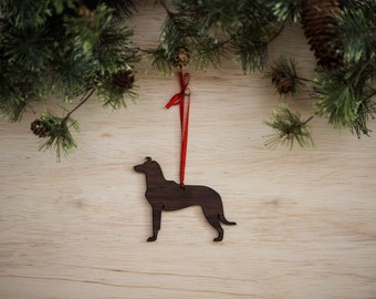 Smooth Coated Collie Ornament
