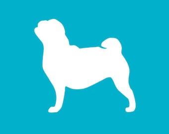Pug Decal
