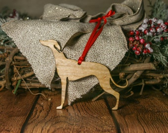 Whippet Ornament