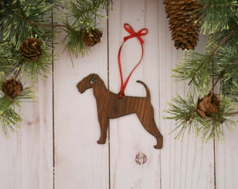 Airedale Terrier Ornament | Personalized Dog Ornaments
