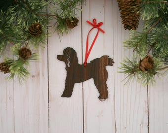 Poodle Ornament