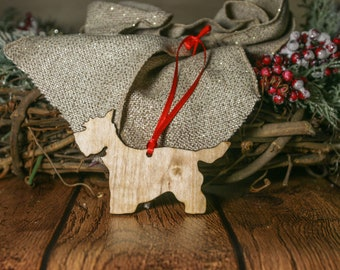 Westie Dog Ornament | Personalized Dog Ornaments