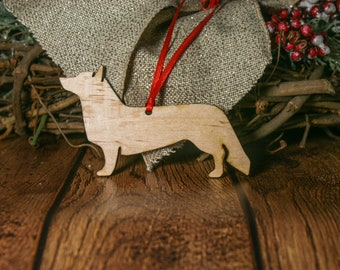 Cardigan Welsh Corgi Ornament