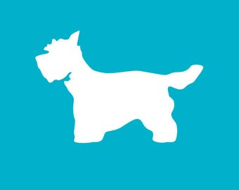 West Highland White Terrier Decal