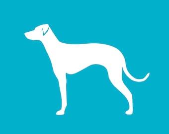 Eurohound Car Decal | Dog Breed Sticker | Dog Silhouette | Laptops | Tumblers | Boats | Trucks |  I Love My Scandinavian Hound