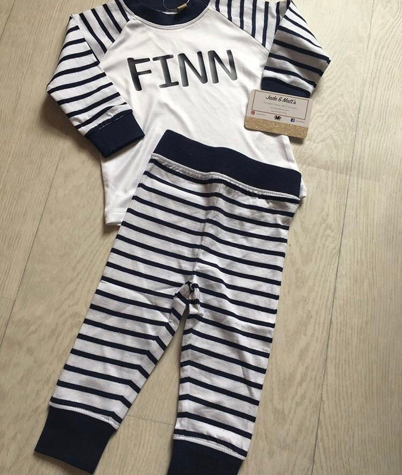 ba6041b20591c Personnalisé un pyjama pour enfant rose blanc de pyjamas