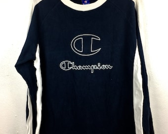 df143ea8f6 Vintage Champion Long Sleeve Tshirts Big Logo Champion Size XL