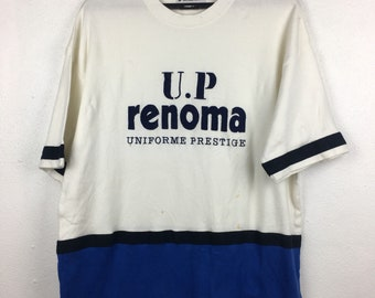 511b6d7795ab Vintage UP Renoma Tshirt Short Sleeve Size XL