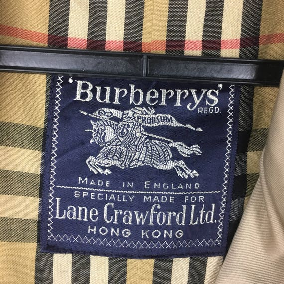 Trench 80s Vintage Trench L Coat Size Coat Burberrys xISrUq1wI