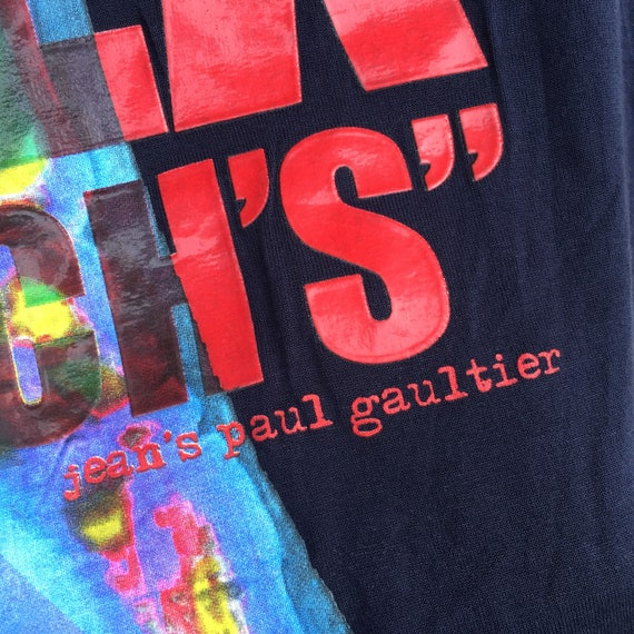 Tshirt Gautier PAUL Size Long Vintage JEAN Sleeve Design S Rare wITqdd5cy