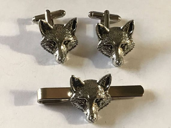 Jewelry & Watches Pins & Brooches Lovely Boar On A Pair Of Cufflinks With A Tie Slide Set A18 Made From English Pewter