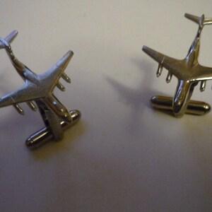 Shackleton MK3 C84 Pair Of Cufflinks Made From Fine English Modern Pewter
