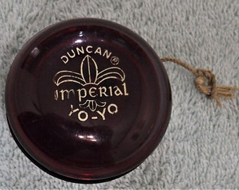 Duncan Imperial Yo-Yo - Dark Red